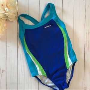 Speedo Girls' Racerback One Piece